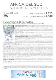 SUDAFRICA E SEYCHELLES VIAGGI DI NOZZE