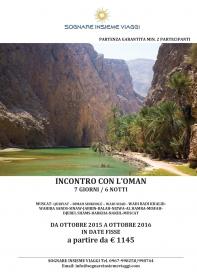Easy Oman Tour promozionali