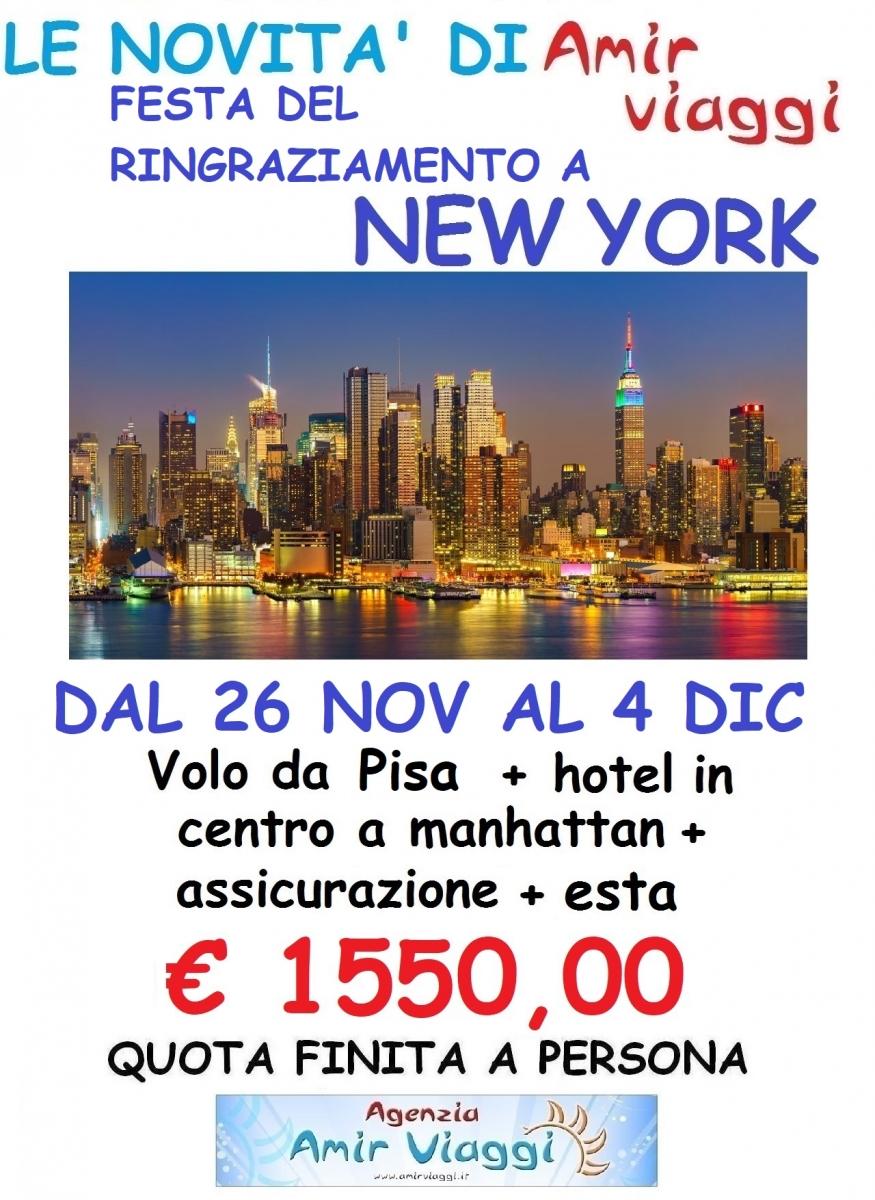 Thanksgiving a New York