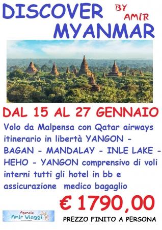 DISCOVER MYANMAR Tour promozionali